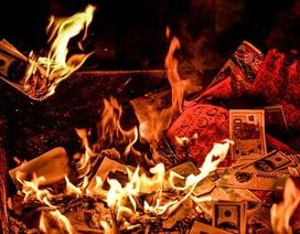 Bộ Văn hóa nói gì trước đề xuất bỏ đốt vàng mã?