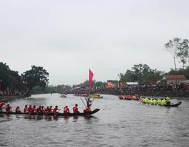 Hào hứng lễ hội đua trải truyền thống đầu Xuân