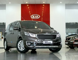KIA tăng giá xe, giới thiệu Sedonda phiên bản nâng cấp
