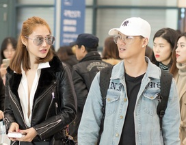 Phủ nhận tái hợp nhưng Linh Chi – Lâm Vinh Hải cùng nhau du lịch Hàn Quốc