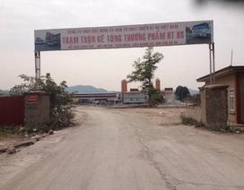 Bắc Giang: Trạm trộn bê tông không phép hoạt động ngay giữa khu công nghiệp