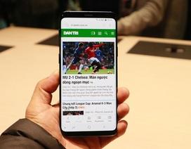 Trên tay Samsung Galaxy S9 có thể tự thay đổi khẩu độ vừa ra mắt