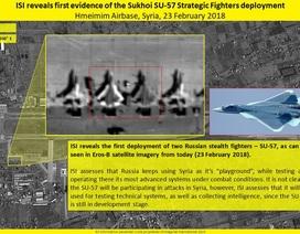 Ảnh vệ tinh Israel xác minh Su-57 của Nga ở căn cứ Syria