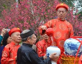 """Lễ """"rước nước, tế cá"""" tưởng nhớ, tri ân tổ tiên vương triều Trần"""