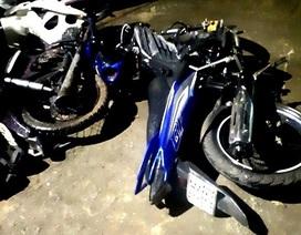 Ba xe máy tông nhau, 3 người tử vong