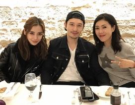 Huỳnh Hiểu Minh tổ chức sinh nhật cho vợ tại Paris