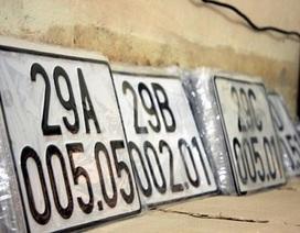 Đấu giá biển số xe: Biển số đẹp được dùng cả đời?