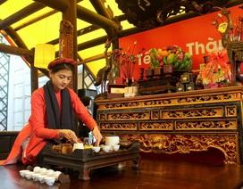 Tái hiện không gian Tết Hà Nội cổ truyền trong khuôn viên khách sạn trăm tuổi