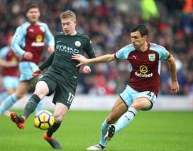 Burnley 1-1 Man City: Rơi điểm bất ngờ