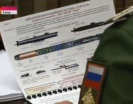 """Mỹ: Nga đang chế tạo ngư lôi hạt nhân """"ngày tận thế"""""""