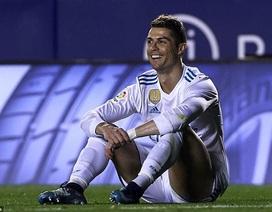 C.Ronaldo vô duyên, Real Madrid hòa thất vọng Levante