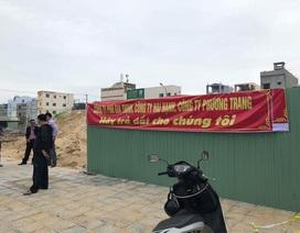 Vụ dân bức xúc vì chủ đầu tư xây nhà trên đất đã bán: Tạm dừng thi công công trình!