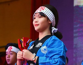 Học sinh Hà thành nhảy yosakoi trên nền nhạc Việt