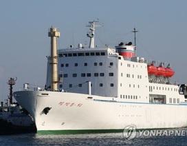 Phái đoàn Triều Tiên ngủ trên tàu, không ăn đồ Mỹ khi tới Hàn Quốc