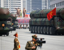 Lễ duyệt binh của Triều Tiên bị lộ trước giờ G