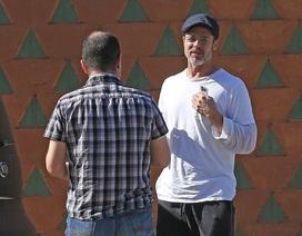 Sự thân thiện của Brad Pitt khi gặp phải va chạm giao thông