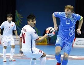 Thua Uzbekistan, đội tuyển futsal Việt Nam dừng bước ở tứ kết giải futsal châu Á