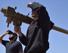 Những nguồn nghi cung tên lửa cho phiến quân Syria