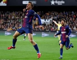 Coutinho ghi bàn, Barcelona vào chung kết Cúp Nhà vua