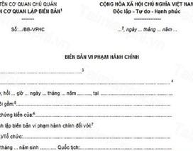 Xử phạt hành chính trẻ 11 tuổi có đúng luật?