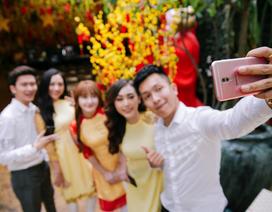 Nhật ký selfie Tết sống động cùng dế yêu