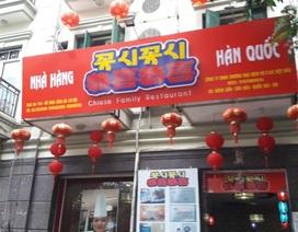 Tràn ngập biển hiệu tiếng Trung Quốc, Hàn Quốc trên phố Hà Nội