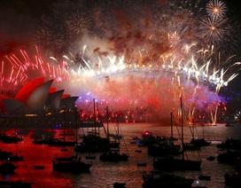 """Thế giới mở """"đại tiệc"""" pháo hoa đón năm 2018"""