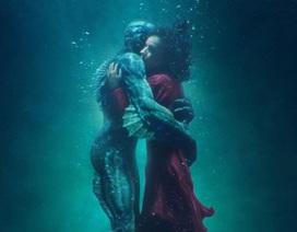 """Phim về tình yêu giữa cô gái câm và quái vật lập """"kỳ tích"""""""
