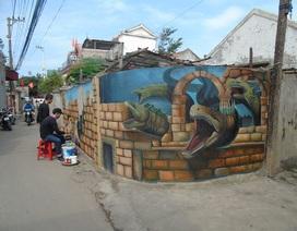 Quảng Bình: Độc đáo cung đường bích họa nơi làng biển
