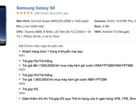 """Galaxy S8, S8+ giảm 2,5 triệu đồng trước thời điểm Galaxy S9 """"đổ bộ"""""""