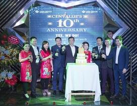CenValue: 10 năm khẳng định thương hiệu, tự tin tăng tốc
