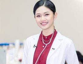 """Á hậu Thanh Tú nói gì về việc """"có quan hệ""""nên được chọn làm MC VTV24?"""