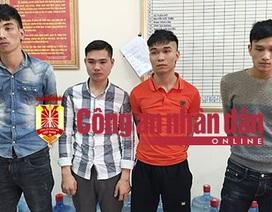 Hà Nội: Bắt giữ 4 đối tượng chém cô gái, cướp xe Piaggio