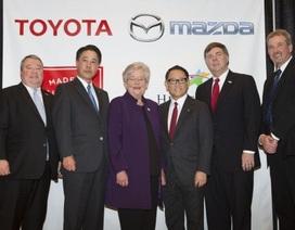 Mazda và Toyota lập liên doanh sản xuất ô tô