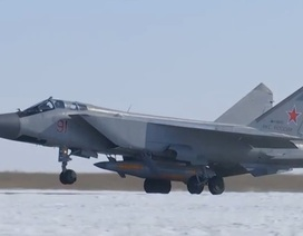 Nga công bố video thử nghiệm tên lửa siêu thanh đầy uy lực Kinzhal