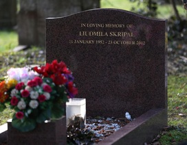Nghi vấn cựu điệp viên Nga trúng độc vì bó hoa viếng mộ vợ