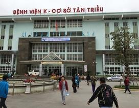Bảo vệ viện K bị tố đánh người nhà bệnh nhân nhập viện