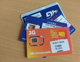 SIM kích hoạt sẵn vẫn tràn lan thị trường
