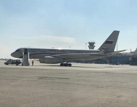 Rộ tin máy bay chở quan chức VIP của Nga xuất hiện ở Syria