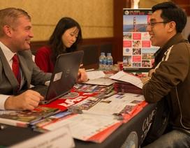 Săn học bổng 100% đại học tại triển lãm du học Mỹ