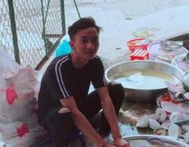 Chàng trai của năm: rửa 10 mâm bát khi về nhà bạn gái ăn giỗ
