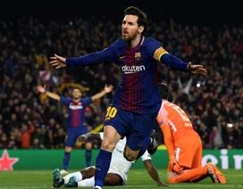 Chấm điểm trận Barcelona 3-0 Chelsea: Thiên tài Lionel Messi