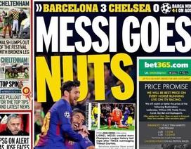 Báo chí thế giới ngả mũ thán phục thiên tài Lionel Messi