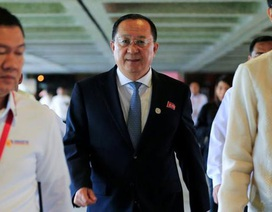 Chuyến đi gây chú ý của Ngoại trưởng Triều Tiên sau đề xuất đối thoại với Mỹ