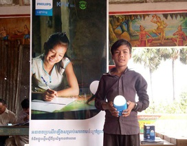 Philips giới thiệu Solar LED cho cộng đồng vùng xa