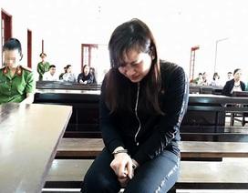 Thiếu phụ giết người khóc ngất khi lĩnh án