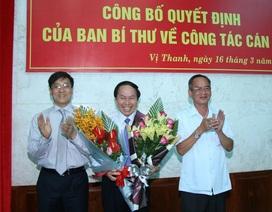 Thứ trưởng Bộ Tư pháp giữ chức Phó Bí thư Tỉnh uỷ Hậu Giang