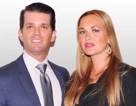 Vợ chồng con trai Tổng thống Trump đệ đơn ly hôn