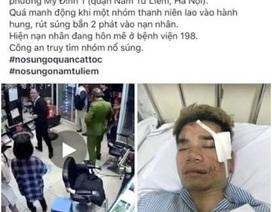 """Hà Nội: Tới hiệu cắt tóc nổ súng """"dằn mặt"""" tình địch"""