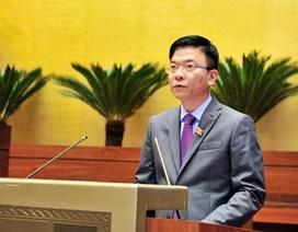 Bộ trưởng Tư pháp trả lời chất vấn việc 2 năm, hơn 20 dự án luật dang dở